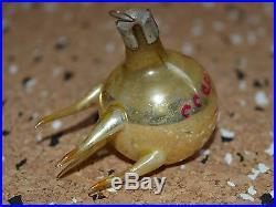 1950s! OLD Russian Soviet SPACE sputnik MIR Glass Ornament Xmas toy Decoration