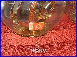 7 Vtg Germany Spinner Resl Lenz Foil Mercury Glass Christmas Ornament Topper