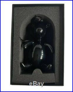 Black Glass Gucci Bear Christmas Ornament NIB Tom Ford Era