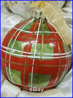 Frontgate Christmas tree holiday ornaments 6 box set