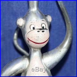 German Antique Monkey Vintage Glass Christmas Ornament Ape, RARE
