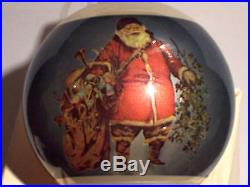Harley Davidson 1982 First Issue Glass Bulb Christmas Ornament Very Rare