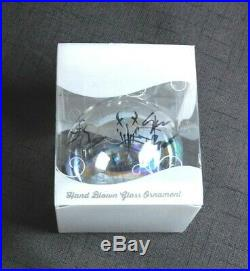 Mushroomhead Signed 2019 Tour Christmas Ornament Rare Concert Band Collectible