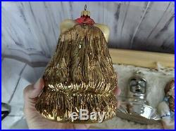 Polonaise wizard of oz set 4 blown ornament glass xmas tree holiday