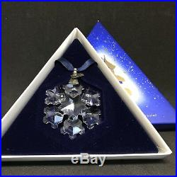 RARE Retired Swarovski 1994 Christmas Ornament Star Snowflake 181632 Mint Boxed