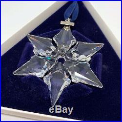 RARE Retired Swarovski 2000 Christmas Ornament Star Snowflake 243452 Mint Boxed