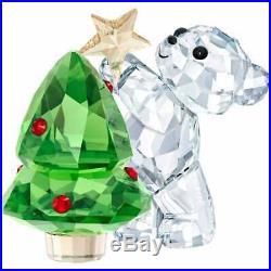 RARE Retired Swarovski Crystal Annual Edition 2018 Kris Bear 5399267 Christmas