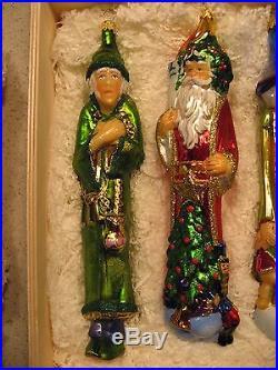 Rare Komozja A Christmas Carol Box Set of 5 Glass ...
