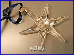 Rare Swarovski Holiday Star Christmas Ornament 1993 Annual Edition MIB