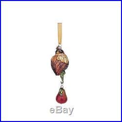 Reed & Barton 12 Days Of Christmas Ornament Set Twelve Glass Heirloom Gift NEW