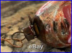 Superb Antique German Blown Glass Xmas Ornament Joey Snake 2 of 2