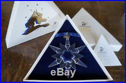 Swarovski Christmas Ornament 1997 211987 Mint Boxed Retired Rare