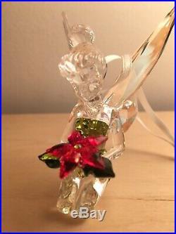 Swarovski Disney Tinkerbell Christmas Ornament 5135893 Mint Boxed