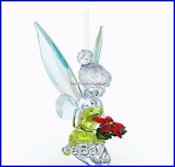 Swarovski Disney Tinkerbell Christmas Ornament 5135893 Mint Boxed Retired Rare