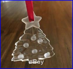 Tiffany & Co. Christmas Ornaments 1994 TREE 1995 PINE CONE 1997 SLEIGH