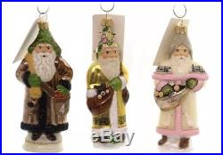 Vaillancourt GLIMMER TWELVE DAYS OF CHRISTMAS Glass Polish Blown Glass Ornaments
