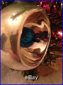 Silver Ball Christmas Ornaments