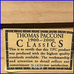 Vintage Thomas Pacconi Classics Christmas Blown Glass Ornaments Set of 12